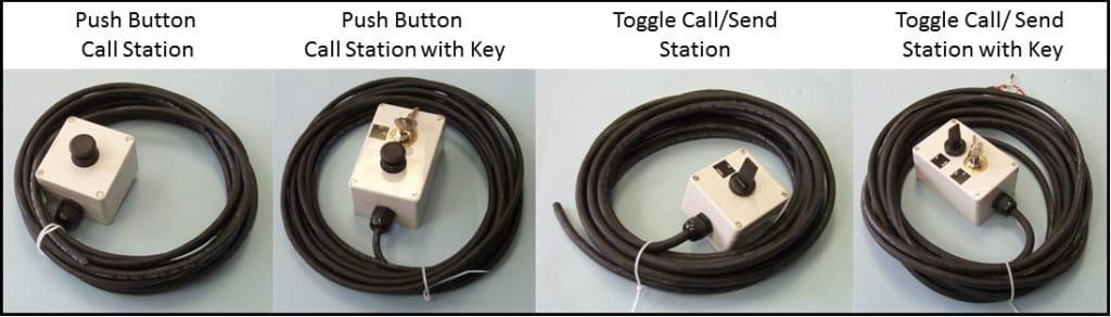 Home Platform Lift Call Stations