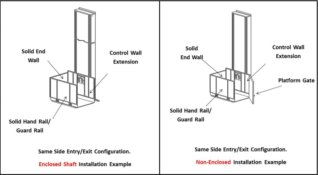 Vertical Platform Lift Entry / Exit