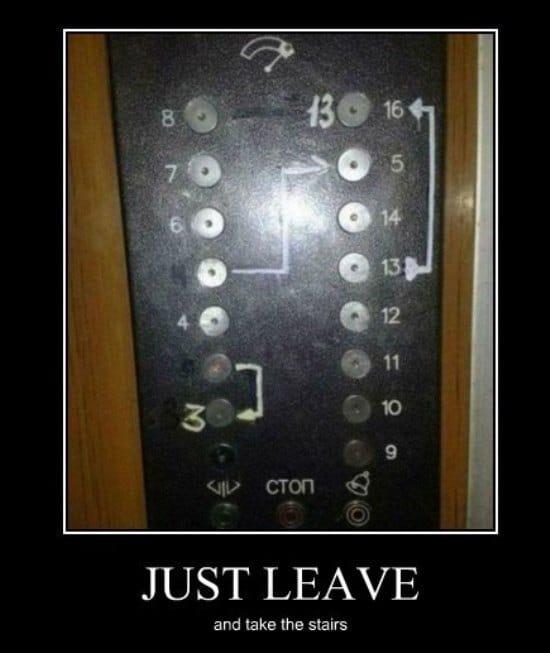 elevator humor