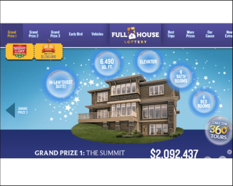 Lottery Show Home Image