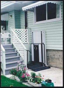 Deck Lift for Wheelchair